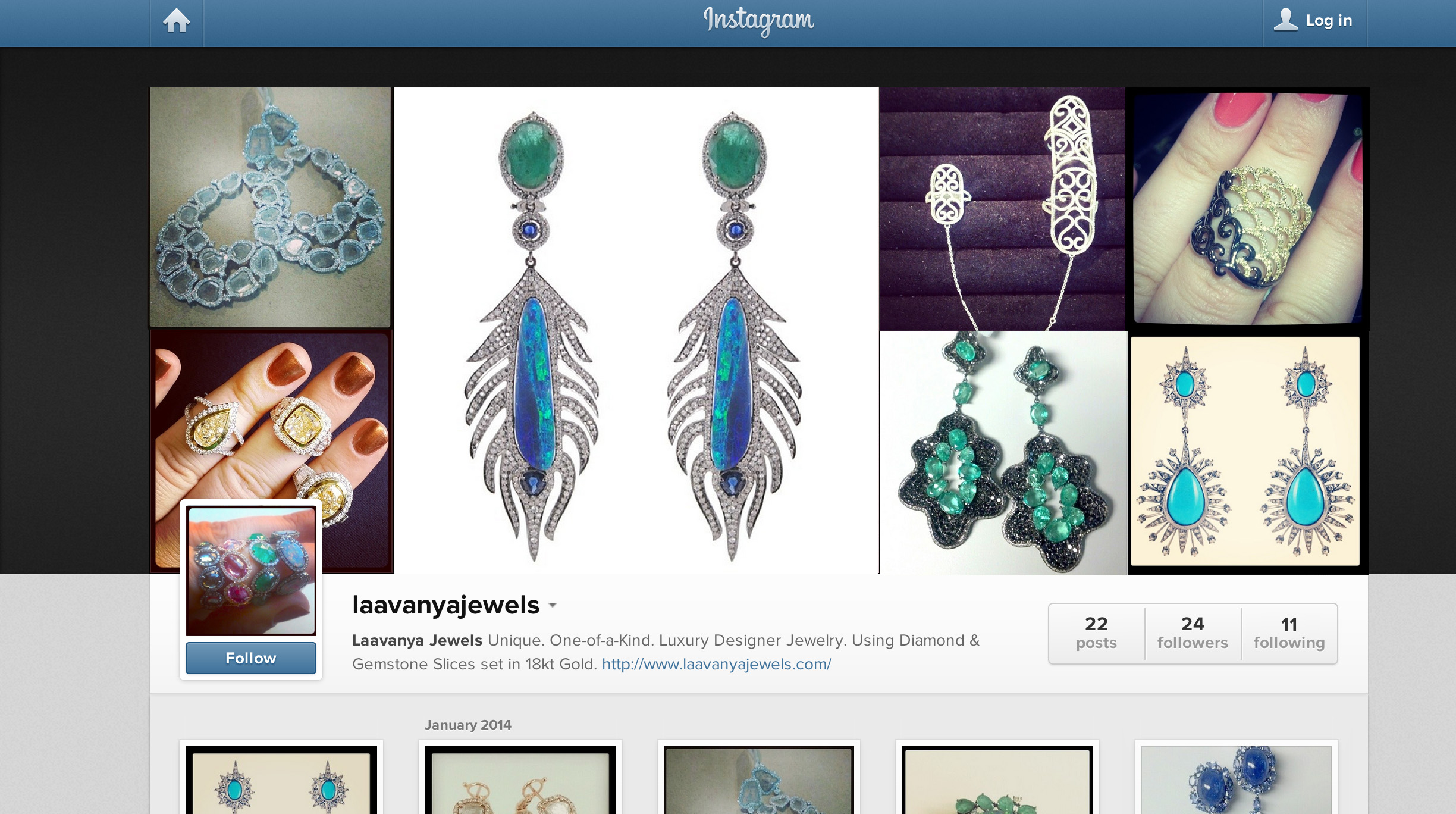 Find us online at one of our many Social Media links - pictured here is our Instagram Page.